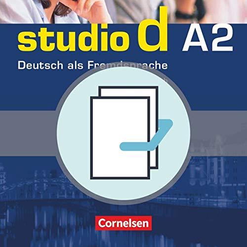 9783464208816: Studio D: Pack - Kurs- Und Arbeitsbuch A2 MIT CD + Sprachtraining A2 (German Edition)