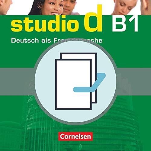 9783464208823: studio d - Grundstufe B1: Gesamtband - Kurs- und Übungsbuch mit Lerner-CD und Sprachtraining: 20719-2 und 20720-8 im Paket