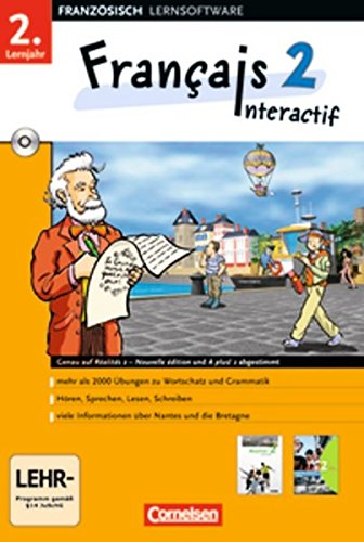 9783464220641: Francais 2 Interactif 2. Lernjahr. CD-ROM ab Win 98 SE