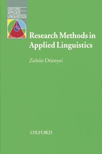 9783464245590: Research Methods in Applied Linguistics
