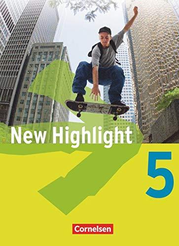9783464343470: New Highlight. Allgemeine Ausgabe 5: 9. Schuljahr. Schulerbuch
