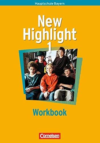 9783464344163: New Highlight 1. 5. Jahrgangsstufe. Workbook. Bayern