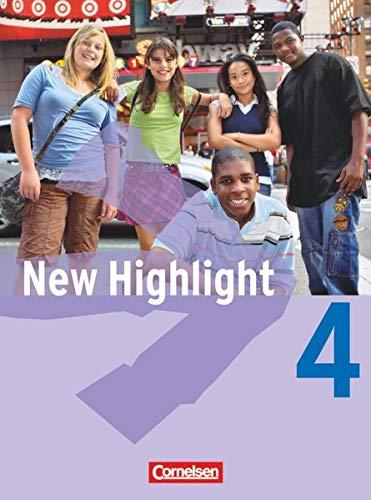 9783464344620: New Highlight 4: 8. Schuljahr. Schülerbuch