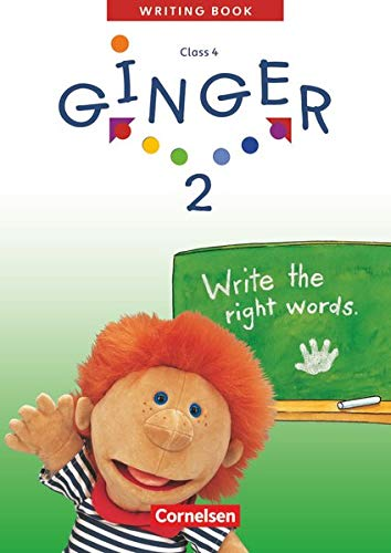 Ginger 2. My Second Writing Book. Schreibheft.