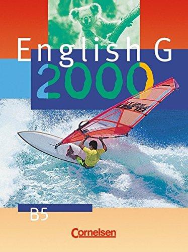 9783464351543: English G 2000, Ausgabe B, Bd.5, Schülerbuch, 9. Schuljahr