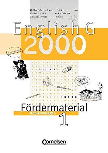 English G 2000 - Ausgabe A, B: Lehmann, Elke, Robb
