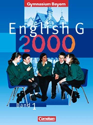 9783464355480: English G 2000. Ausgabe Bayern. Band 1.
