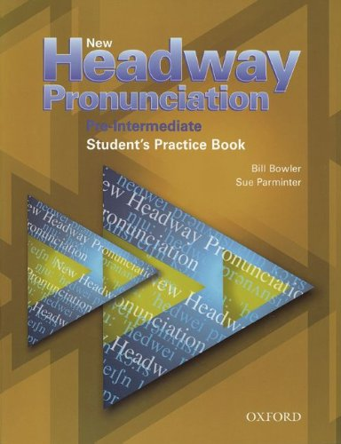 9783464375679: New Headway. Pronunciation. Pre-Intermediate. Book with CD