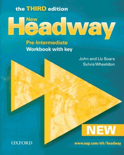 9783464375952: New Headway English Course. Pre-Intermediate. Workbook with Key