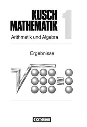 9783464413814: Mathematik, Neuausgabe, Bd.1, Arithmetik und Algebra, EURO. Ergebnisheft