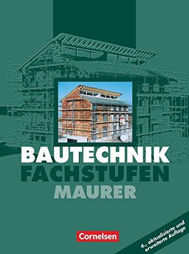 9783464430224: Bautechnik. Fachstufen. Maurer. Schülerbuch. Euro-Ausgabe