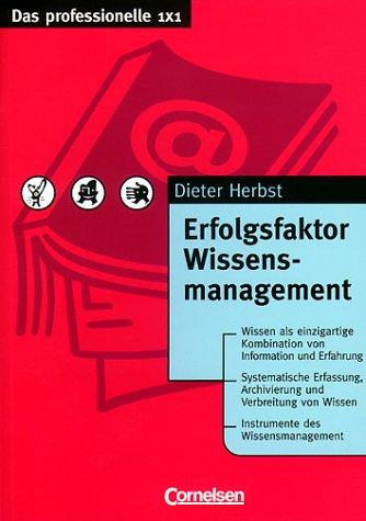 9783464490723: Erfolgsfaktor Wissensmanagement.