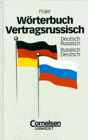9783464494103: Wörterbuch Vertragsrussisch. Deutsch-Russisch /Russisch-Deutsch