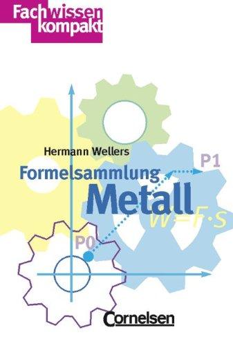 9783464497623: Formelsammlung Metall. (Lernmaterialien)