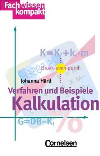 9783464497739: Kalkulation.