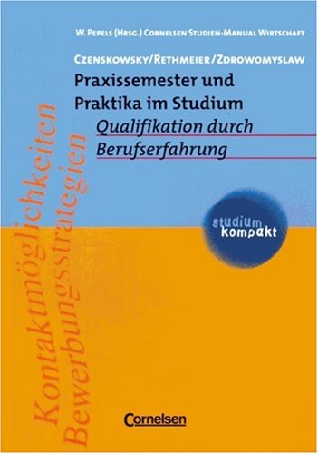 9783464498071: Praxissemester und Praktika.