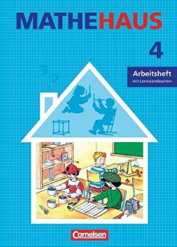 9783464514443: Mathehaus 4. Allgemeine Ausgabe. Arbeitsheft