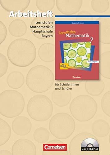 9783464520338: Lernstufen Mathematik 9. Jahrgangsstufe. Arbeitsheft. Hauptschule Bayern: Für Regelklassen