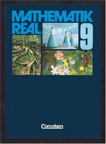 Mathematik Real, Allgemeine Ausgabe, Klasse 9, EURO: Berkemeier, Helga, Conventz,
