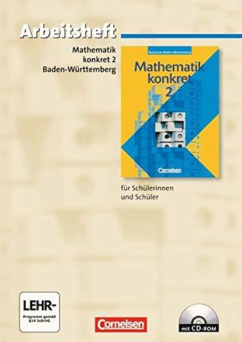 Mathematik konkret. Realschule Baden-Württemberg: Mathematik konkret 2.