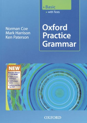 9783464558157: Oxford Practice Grammar, Basic, Student's Book with Key and Practice, w. CD-ROM