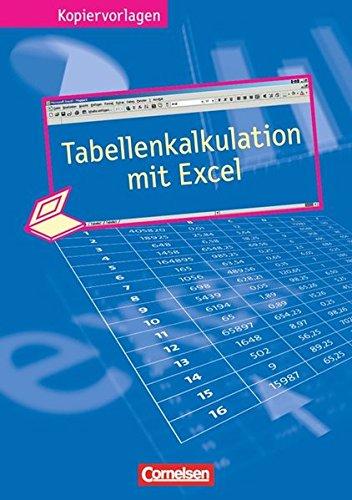 9783464561973: Tabellenkalkulation mit Excel / Kopiervorlagen