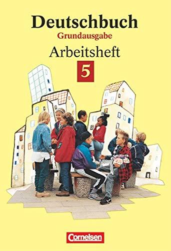 9783464603222: Deutschbuch, Grundausgabe, neue Rechtschreibung, 5. Schuljahr