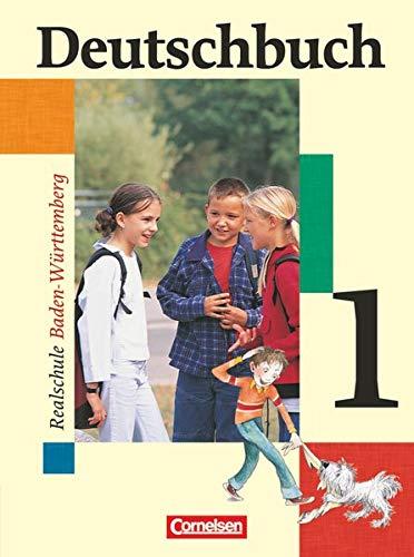 9783464603390: Deutschbuch 5. Schülerbuch. Realschule. Baden-Württemberg.