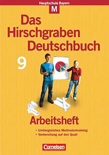 9783464604632: Das Hirschgraben Deutschbuch. 9. Schuljahr. Arbeitsheft. Hauptschule Bayern
