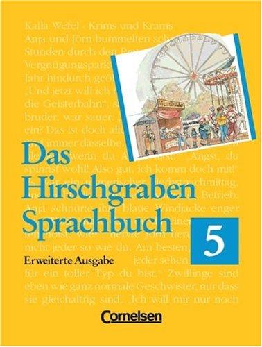 Hirschgraben Sprachbuch. Erweiterte Ausgabe 5. RSR. Schülerbuch.: Edmund Husserl