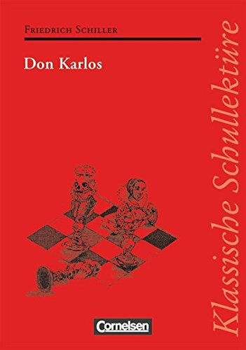 9783464605769: Klassische Schullektüre. Don Karlos: Ein dramatisches Gedicht