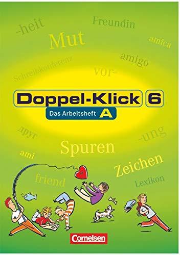 9783464608760: Doppel-Klick, neue Rechtschreibung, 6. Schuljahr, Trainingsheft