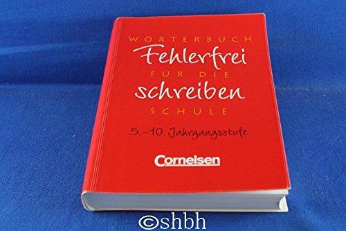9783464618202: Fehlerfrei schreiben - Bayern: Fehlerfrei schreiben, neue Rechtschreibung, Ausgabe mit Trennzeichen