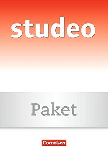 9783464654231: Studeo. Wege zum Latein-Lernen. Buch und CD: Sprechtexte zur lateinischen Lektüre und Wege zum Latein lernen. Buch und CD