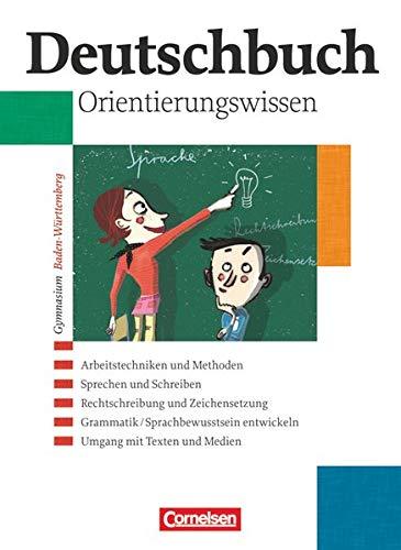 9783464680001: Deutschbuch - Gymnasium Baden-Württemberg 1-6: 5.-10. Schuljahr - Grundwissen: Schülerbuch