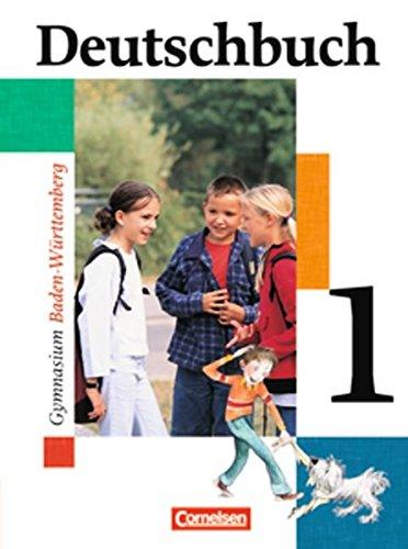9783464680124: Deutschbuch Baden-wurttemberg: Deutschbuch Band 1 (German Edition)