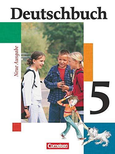 9783464680551: Deutschbuch 5. Schülerbuch. Erweiterte Ausgabe. Neue Rechtschreibung: Sprach- und Lesebuch. 5. Schuljahr