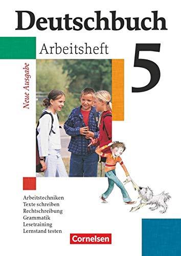 9783464680612: Deutschbuch 5. Arbeitsheft mit Lösungen. Gymnasium. Allgemeine Ausgabe. Neue Rechtschreibung