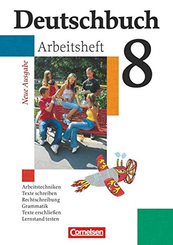 9783464680643: Deutschbuch 8. Schuljahr Gymnasium. Allgemeine Ausgabe. Arbeitsheft mit Lösungen