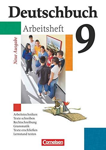 9783464680650: Deutschbuch 9. Schuljahr Gymnasium. Allgemeine Ausgabe. Arbeitsheft mit Lösungen
