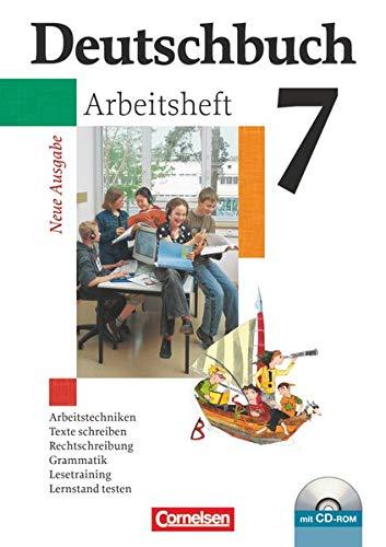 9783464680995: Deutschbuch fuer Gymnasien 7