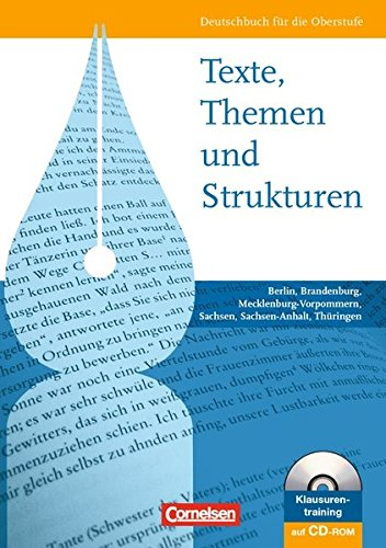 9783464691045: Texte, Themen und Strukturen: Schülerbuch. Östliche Bundesländer und Berlin