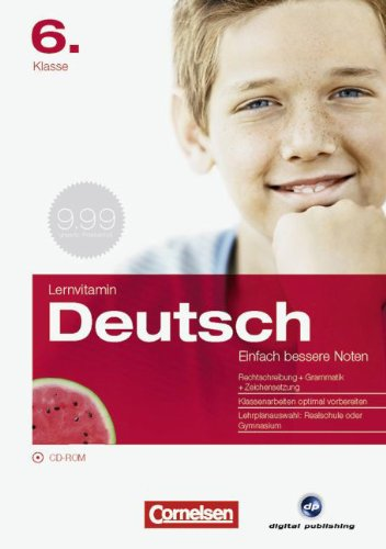 9783464901533: Lernvitamin D - Deutsch 6. Klasse