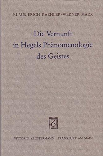 9783465025375: Die Vernunft in Hegels Phänomenologie des Geistes