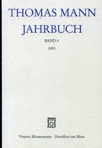 9783465025818: Thomas Mann Jahrbuch, Band 6