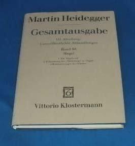 9783465026167: Gesamtausgabe Abt. 3 Unver�ffentliche Abhandlungen Bd. 68. Hegel.