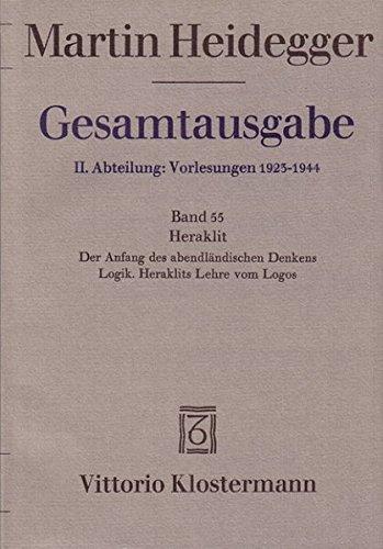9783465026471: Gesamtausgabe, Kt, Bd.55, Heraklit