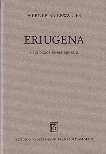 9783465026532: Eriugena: Grundzüge seines Denkens (German Edition)