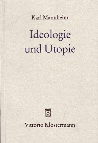 9783465028222: Ideologie und Utopie
