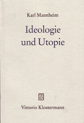 9783465028222: Ideologie und Utopie.